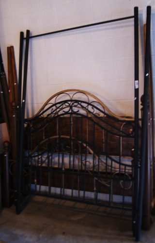 Black Canopy Bed Frame