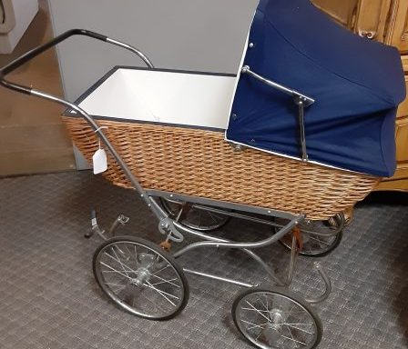 Vintage Baby Stroller And Bassinet Priced Separate