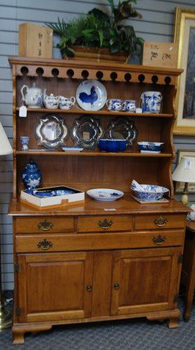 Nichols and Stone Hutch Cabinet