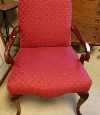 Queen Anne Style Arm Chair