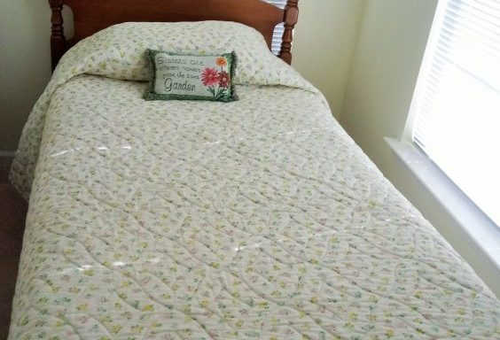 2-Twin Maple Bed Frames Priced Separate