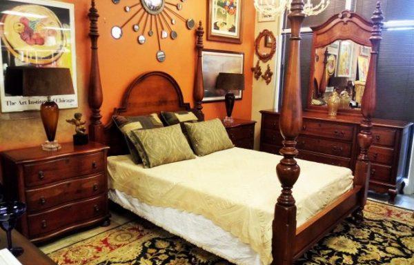 Bedroom Queen Size Post Bed
