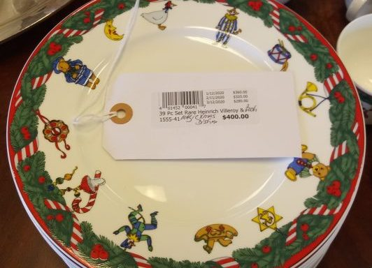 Heinrich Village Villeroy And Bach Magic Christmas Dinner Ware Set