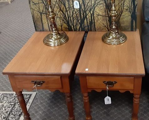 2-Side Tables Priced Separate