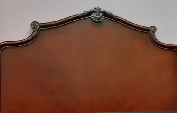 Queen Size Headboard-Foot Board And Rails