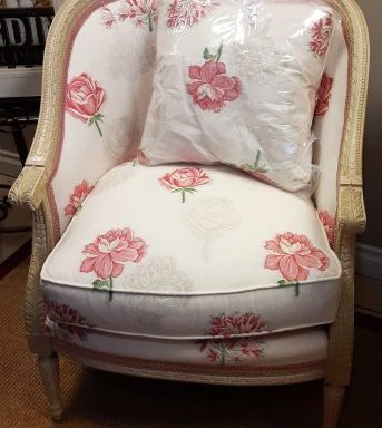 Custom Chair With Pillow