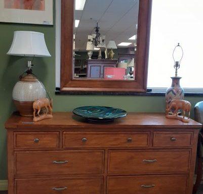 Full Dresser With Mirror