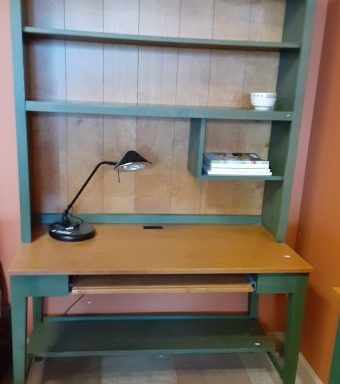 Ethan Allen Desk Hutch And Small Desk Priced Separate