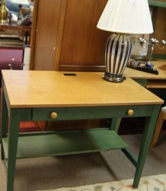 Ethan Allen Desk Hutch-Printer Stand And Small Desk Priced Separate
