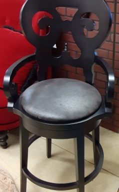 4-Arhaus Swivel Bar Stools Priced Separate