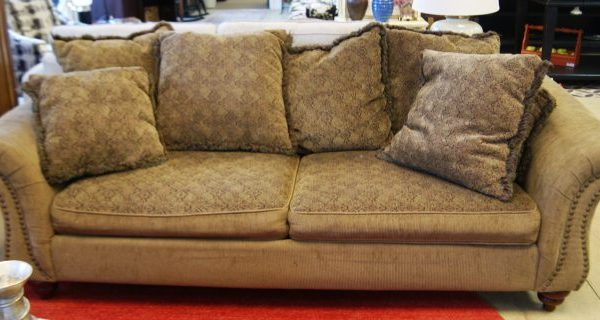 Sofa And Chair Comes With Pillows Priced Separate