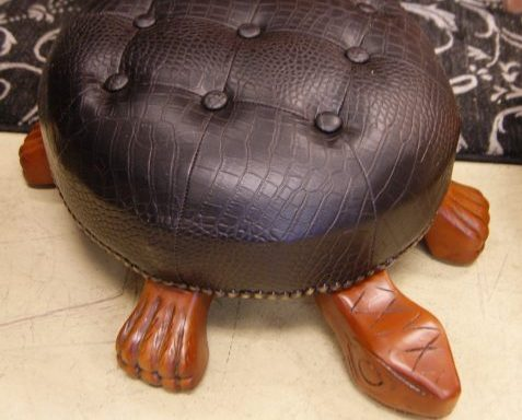 Turtle Foot Stools Priced Separate