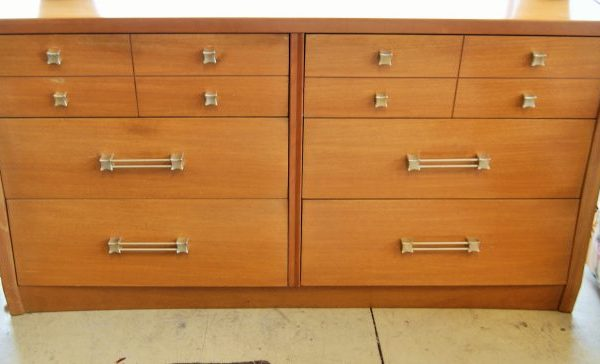 Mid Century Modern Dressers Priced Separate