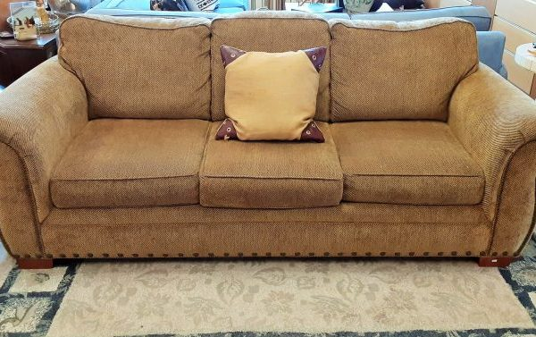 Sofa-Love Seat And Arm Chair With Ottoman Priced Separate