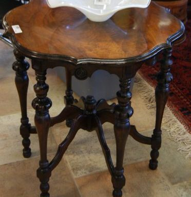 Antique Oval Parlor Table