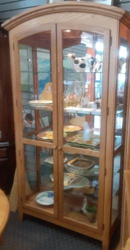 Double Door Display Cabinet