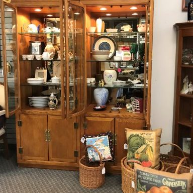Display Cabinet Set