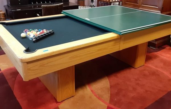 POOL TABLES AND PING PONG TABLES
