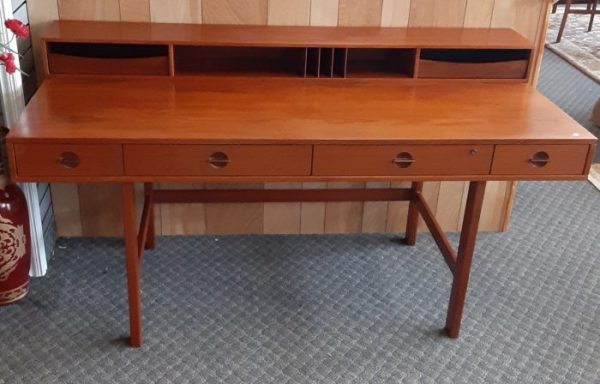 1960's Mid Century Modern Executive Desk