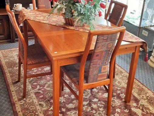 5 Piece Mid Century Modern Dining Room Set