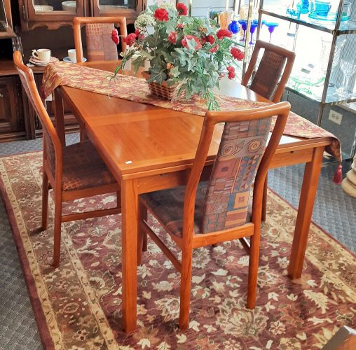 5 Piece Mid Century Modern Dining Room Set