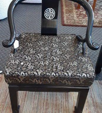 Oriental Ming Horse Shoe Chair Set