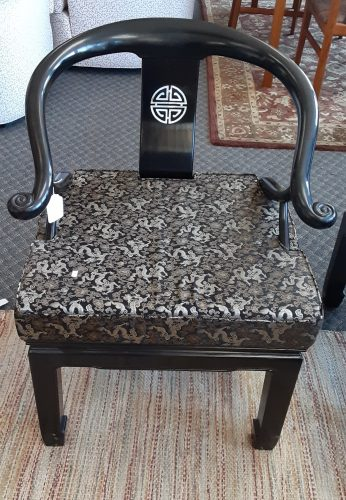Oriental Ming Horse Shoe Chair Set