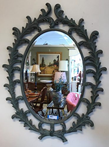 Decorative Iron Wall Mirror