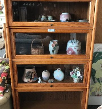 2-Barrister Bookshelf Cabinets Priced Separate