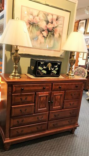 Tall Dresser and Queen Sleigh Bed  Priced Separate