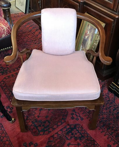 2-Ming Horseshoe Arm Chairs Priced Separate