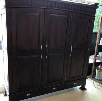 Longport Asian Style Amoire Wardrobe Cabinet