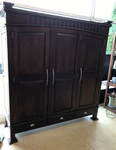Longport Asian Style Amoire Wardrobe Cabinet