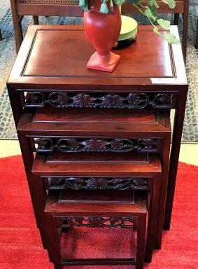 Vintage Nesting Table Set