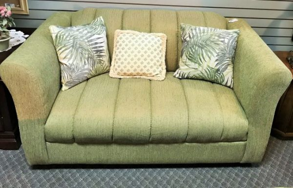 Love Seat Sofa With Pillows