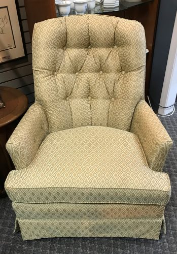 Custom Tufted Arm Chair