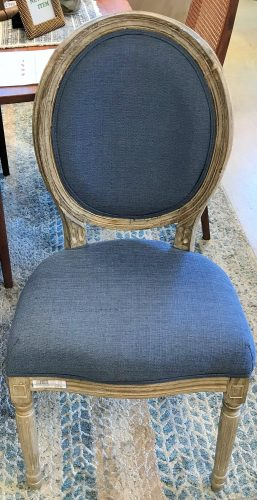 Accent Side Chairs Sold Separate