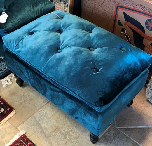 2-Tufted Ottomans Priced Separate
