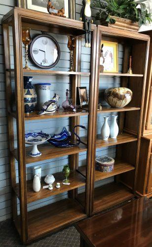 2-Open Display Shelf Units