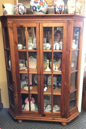 2-Curio Cabinets Priced Separate