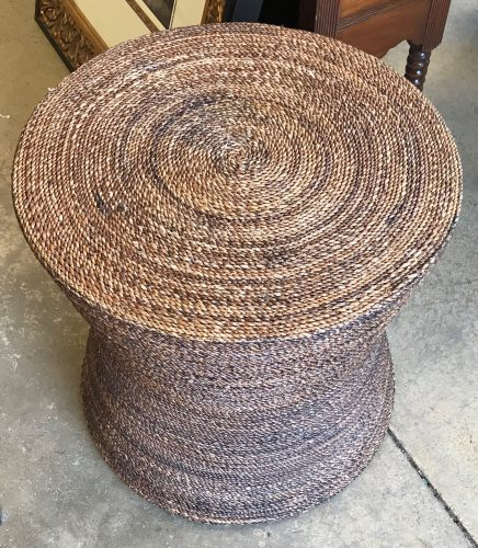 Seagrass Accent Table