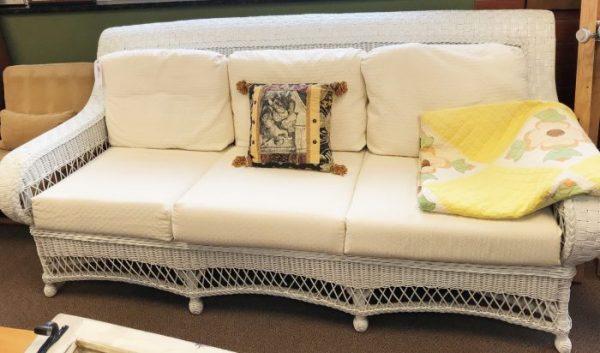 Indoor Wicker Sofa