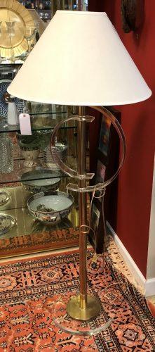 Vintage Lucite Floor Lamp