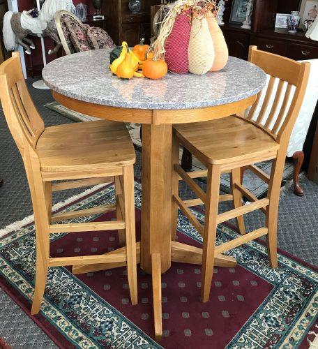 3 Piece High Top Table Set