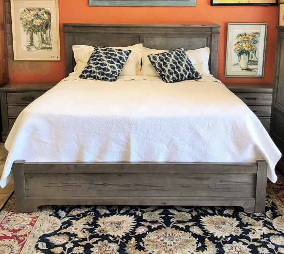 Platform Bed ~ Tall Standing Chest~ Full Dresser ~ Pair Of Night Stands Priced Separate
