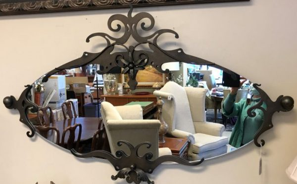 Decorative Handmade Iron Mirror
