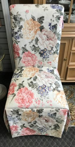 2-Parsons Chairs Priced Separate