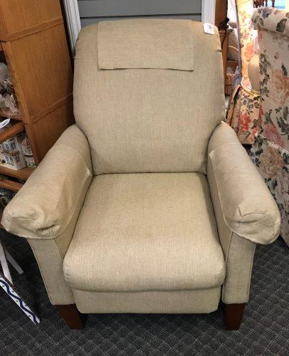 Tan Recliner Arm Chair