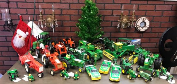 John Deere And Vintage Allis Chalmers Tractors and Nascar Cars Sold Separate