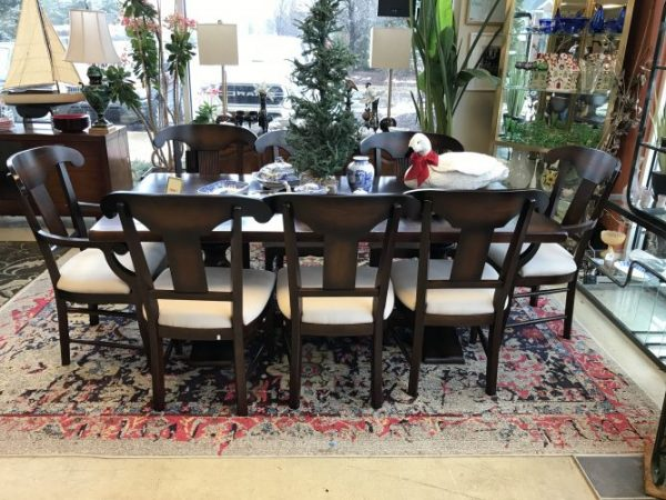 Arhaus Table and Chair Set